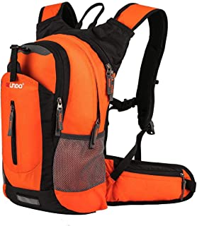 Gelindo 18L Insulated Hydration Backpack Pack with 2.5L Bpa Free Bladder, Keep Liquid Coolup to 4 Hours, Orange