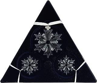SWAROVSKI Annual Edition Ornament Set, A. E. 2018, Clear Crystal