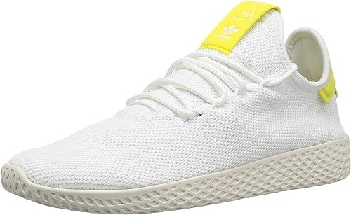 Adidas Originals Hommes's Pw Tennis Hu FonctionneHommest chaussures, Chalk blanc, 11.5 M US