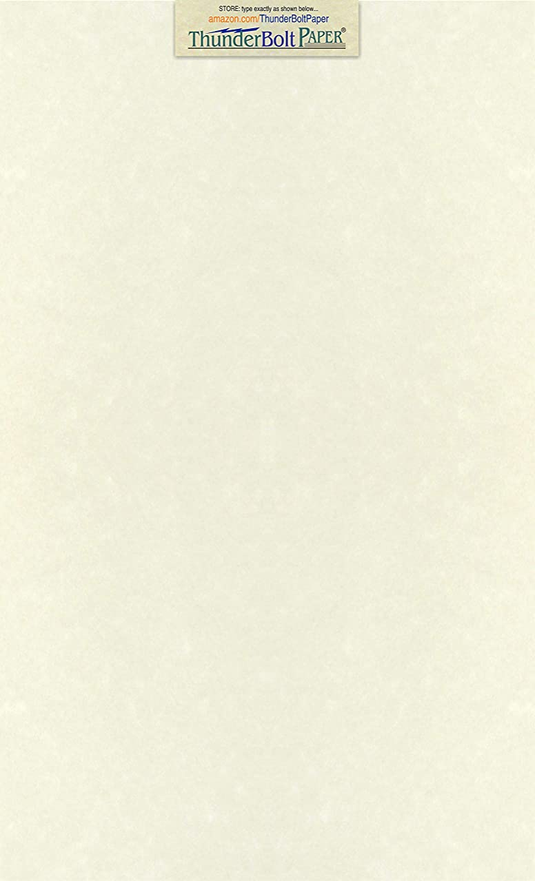 50 Soft White Parchment 60lb Text Weight Paper - 8.5