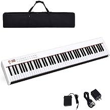 Costzon BX-II 88-Key Portable Touch Sensitive Digital Piano,