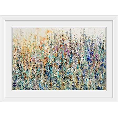 Amazon Com Greatbigcanvas Thicket Wildflowers Canvas Wall Art Print Floral Home Decor Artwork 60 X40 X1 5 Posters Prints