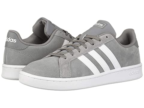 more photos 0feeb 84789 Adidas Originals Grand Court, Grey Three F17 Footwear White Grey Four F17