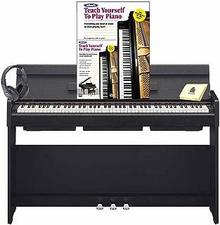 Yamaha YDP-S34 Arius Stylish 88 Key Digital Piano with 88 Graded Hammer Standard Action Keys (Includes Power Supply & Song Book) with Piano (Book & DVD) Headphone and Zorro Piano Polish Cloth - Black