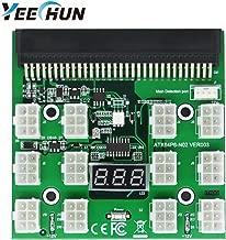 YEECHUN [Shipping from New York] PCI-E 6Pin Breakout Board 12V for (1200W) GPU Mining Power Supply: DPS-1200FB DPS-1200QB PS-2751-5Q PS-2751-LF-1F HSTSN-PL12 DPS-700LB PS-2112-5L DPS-750RB