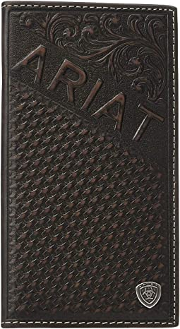 Embossed Rodeo Wallet w/ Ariat Shield