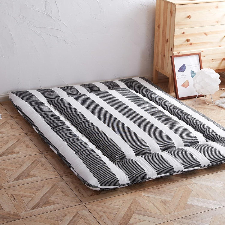 Summer Sleeping Floor Mat, All Season Avaiable Thin Mattress Mat Sleeping Pad Futon Japanese Mattress Topper Cushion for Home Office Travel Kids Crawl-e 90x200cm(35x79inch)