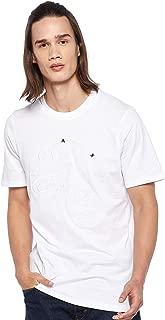 Armani Exchange Men's 3GZTLD T-Shirt, White, Large