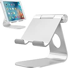 "Soporte Tablet, Bovon Multiángulo Soporte iPad, Soporte móvil, Base Dock Ajustable para iPad Pro 9.7 10.5 12.9, iPad Air, iPad Mini, iPhone X XS Max XR 8 7 6s Plus, Samsung Tabs, E-reader (4-13 "")"