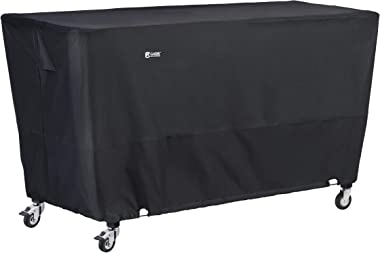 Classic Accessories,55-992-040401-EC, Water-Resistant 63 Inch Flat Top Griddle Cover,Black,Large