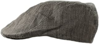 Irish Linen Cap Made in Ireland Fitted Flat Cap Slim Fit Made by John Hanly