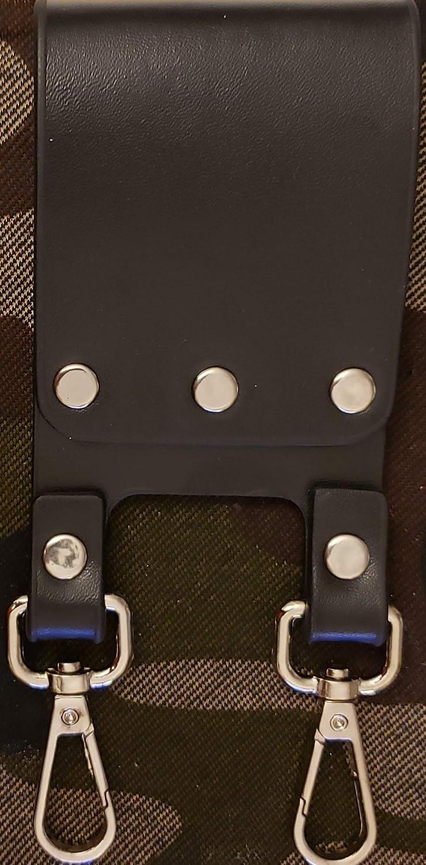 DEURA Knight Templar Masonic 5 ☆ very popular Black Belt Sword Scabbard Oklahoma City Mall Holder