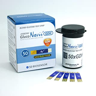 GlucoNavii Blood Glucose Test Strips - Diabetics VAT Free (