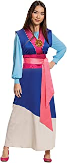 Disguise Limited Mulan Women's Blue Dress Costume