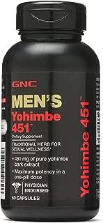 GNC Yohimbe 451, 60 Capsules