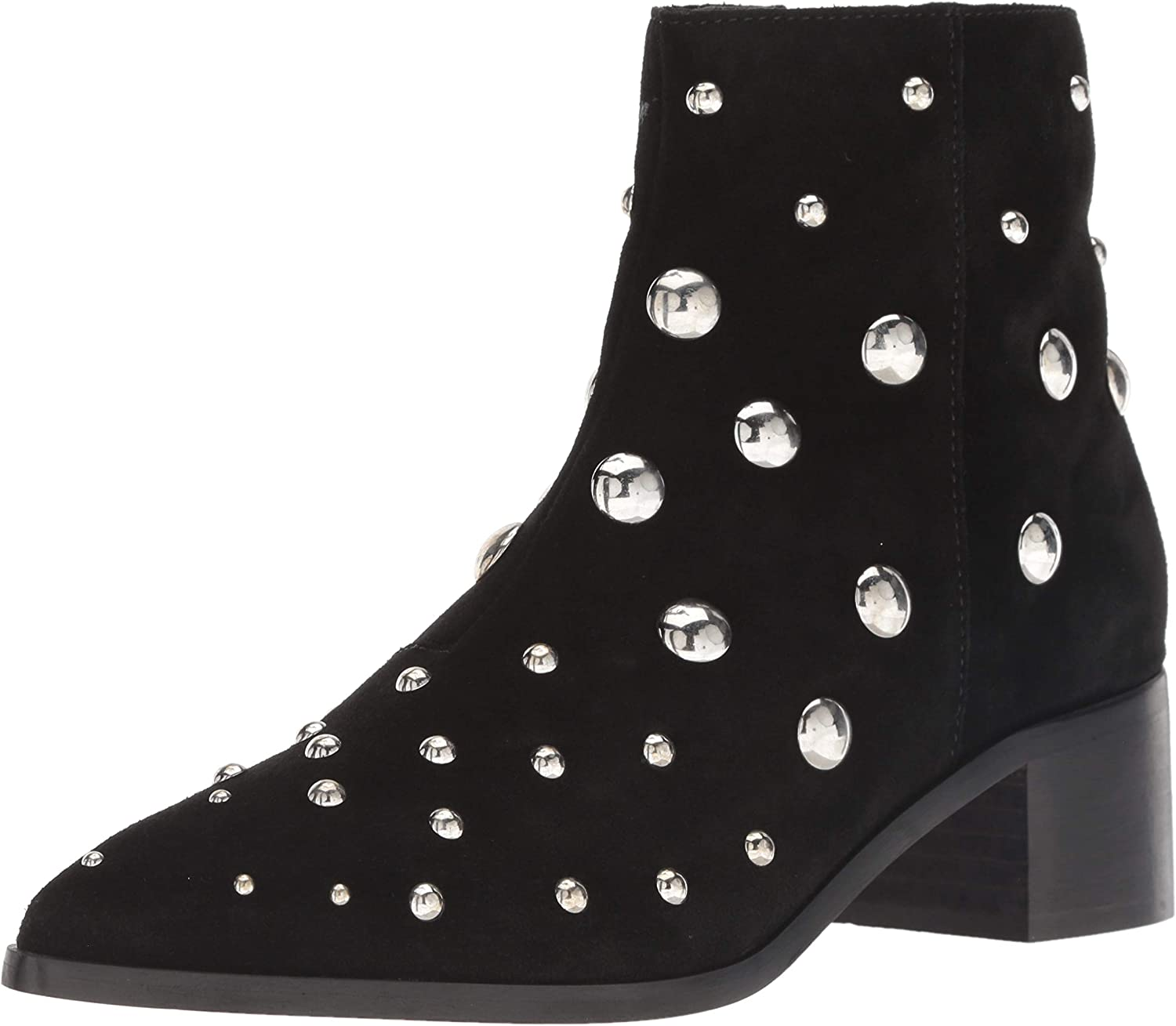 Kenneth Cole New York Womens Barston Studded Ankle Bootie Ankle Boot