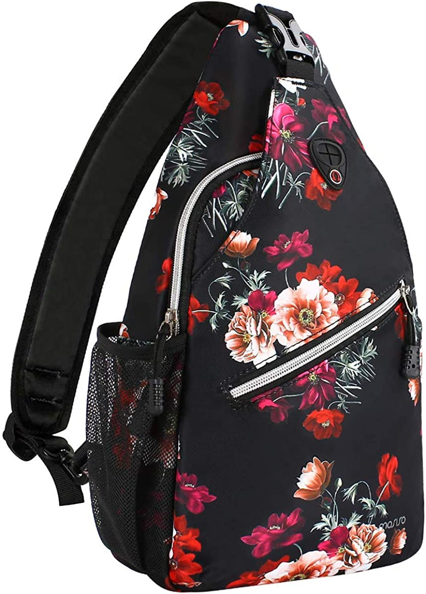 MOSISO 13 inch Sling Inexpensive Backpack Daypack Multipurpose Regular store Hiking Outdo