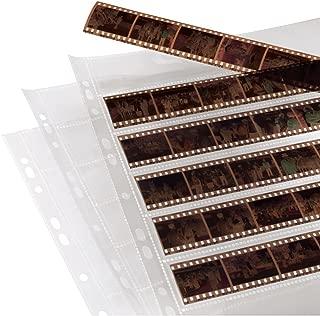 Hama Negative File Storage Sleeves, Each Holding 7 Strips of 6 (24 x 36 mm) Frames, Polypropylene (Pack of 100)