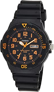 Casio Men's Blue Dial Resin Band Watch - MRW-200H-2B2, Analog, Quartz