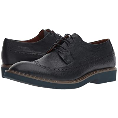 Donald J Pliner Gareth (Navy Grain Calf) Men
