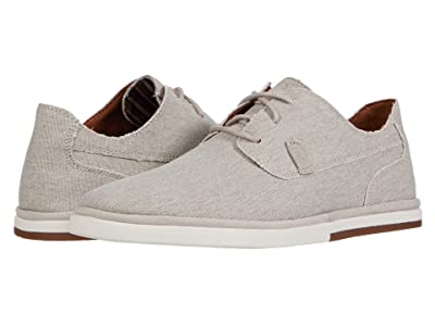 Rockport Austyn Plain Toe (Rocksand Canvas) Men