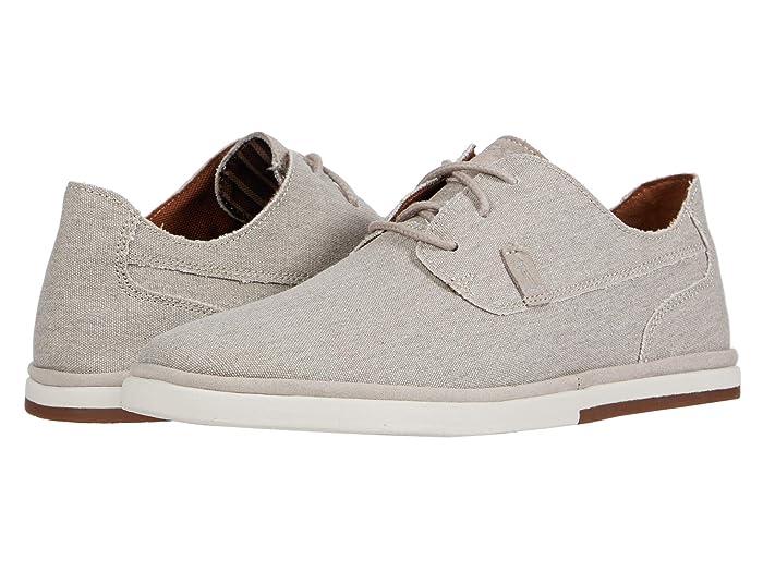Rockport  Austyn Plain Toe (Rocksand Canvas) Mens Shoes