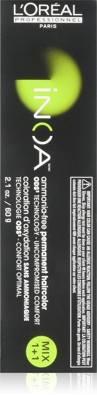 Loreal Inoa Elegant Ammonia Now free shipping Free Permanent Hair 2.1 6.0 Color oz 6nn
