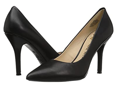 Nine West Fifth9x9 Pump (Black Leather/Leather) Women