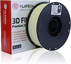 Filatech 3D Printing ABS Filament, 1.75 mm +/- 0.05 mm, 1.0 Kg Spool, 100% Virgin Material, Made in UAE Natural AB120
