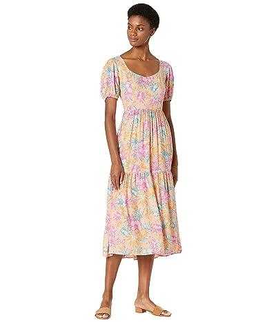 LOST + WANDER Sunkist Aloha Midi Dress