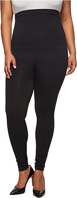 Spanx Plus Size High-Waisted Look At Me Now Leggings