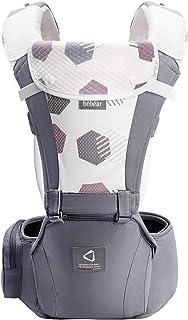 Bebamour Bärsele för 0-36 månader, 3D Air Mesh Bärsele ryggsäck för nyfödda till småbarn, godkänd av säkerhetsstandard, Er...
