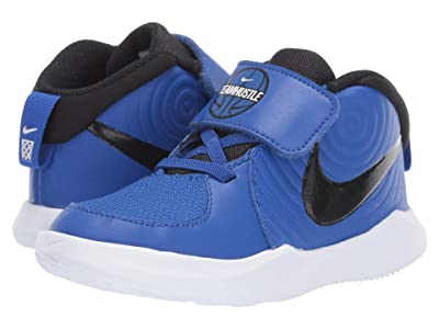 Nike Kids Team Hustle D 9 (Infant/Toddler) (Game Royal/Black/White) Kids Shoes