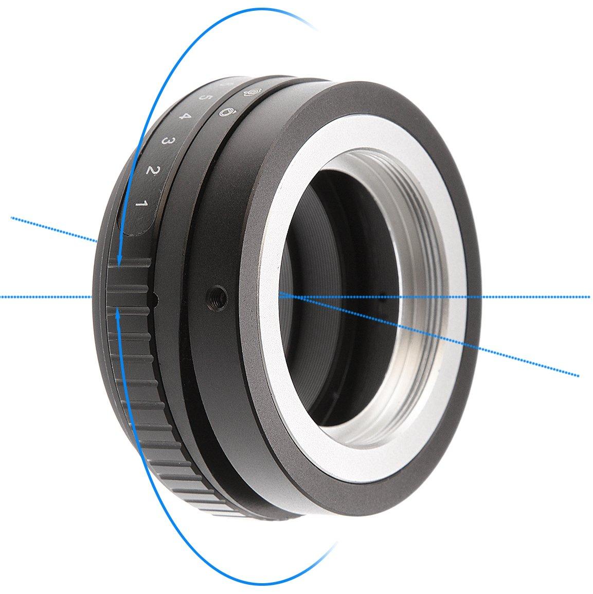 Adaptador de Lente de 360/° para Nikon AI F Mount a Fujifilm FX X Shuangyu Tilt-Shift