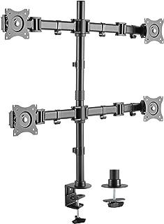 卓上モニターアーム STARPLATINUM モニター スタンド 13-27インチ対応 TVセッターオフィス NA342