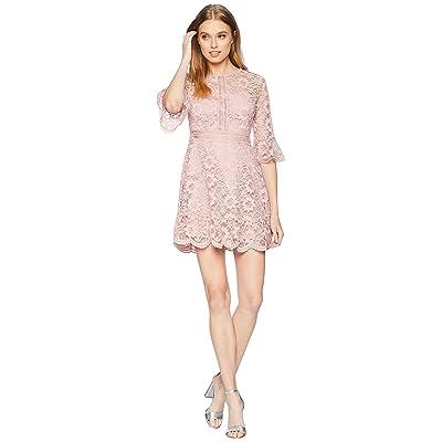 BB Dakota Love On Top Lace Dress (Mauve Rose) Women