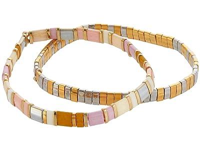 SHASHI Tilu Set of 2 (Blush) Bracelet