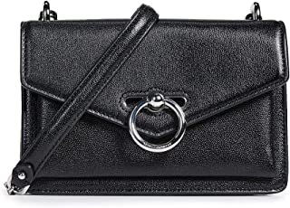 Rebecca Minkoff Women's Jean Crossbody Bag, Black, One Size