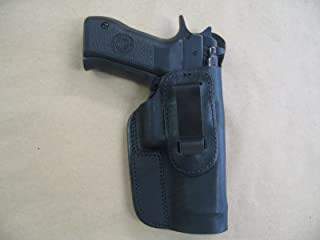 Baby Desert Eagle 9mm / .40 IWB Leather In Waistband Conceal Carry Holster BLACK RH