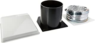 Westland (VID403A White Deluxe Dryer Vent Kit