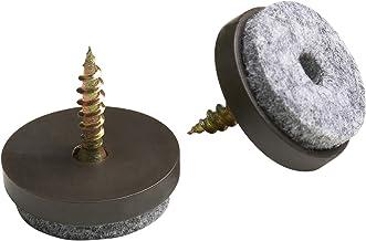 Metafranc viltglijders met schroef - effectieve bescherming van uw meubels en stoelen / meubelglijderset voor gevoelige vl...