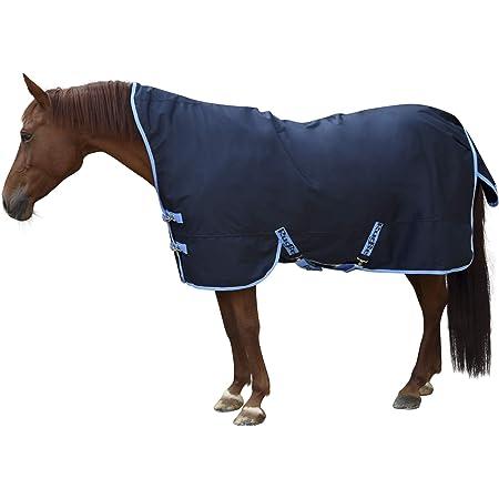 correas cruzadas y cordones para las piernas Manta de invierno para caballos 165 cm Reitsport Amesbichler Waldhausen con forro polar interior transpirable