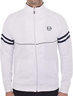 Mens Track Top Orion Retro Adult Casual Track Jacket White/Navy 36969 100 New