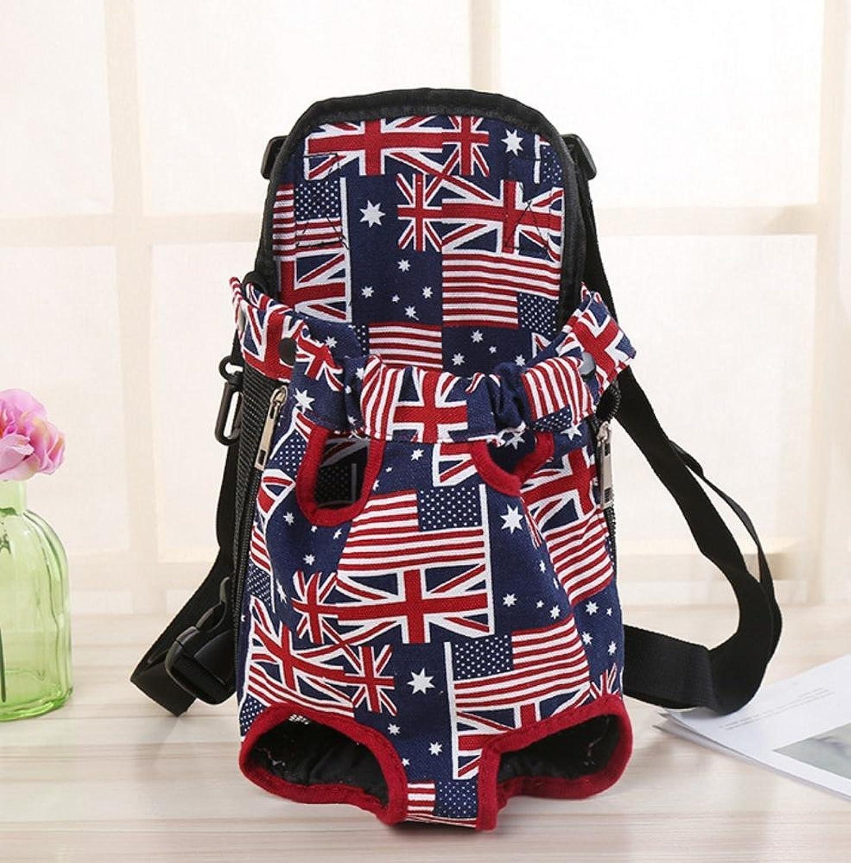 Aoligei Portable pet Bag with Double Shoulder Backpack