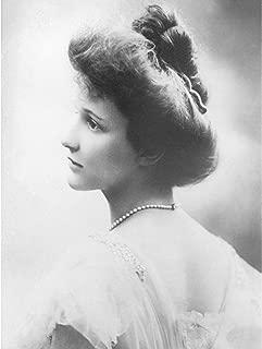 Bain Portrait First Female UK MP Nancy Astor Photo Premium Wall Art Canvas Print 18X24 Inch 肖像画最初イギリス写真壁