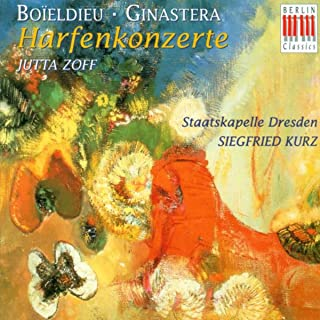 François Adrien Boïeldieu: Harp Concerto in C Major / Alberto Ginastera: Harp Concerto, Op. 25