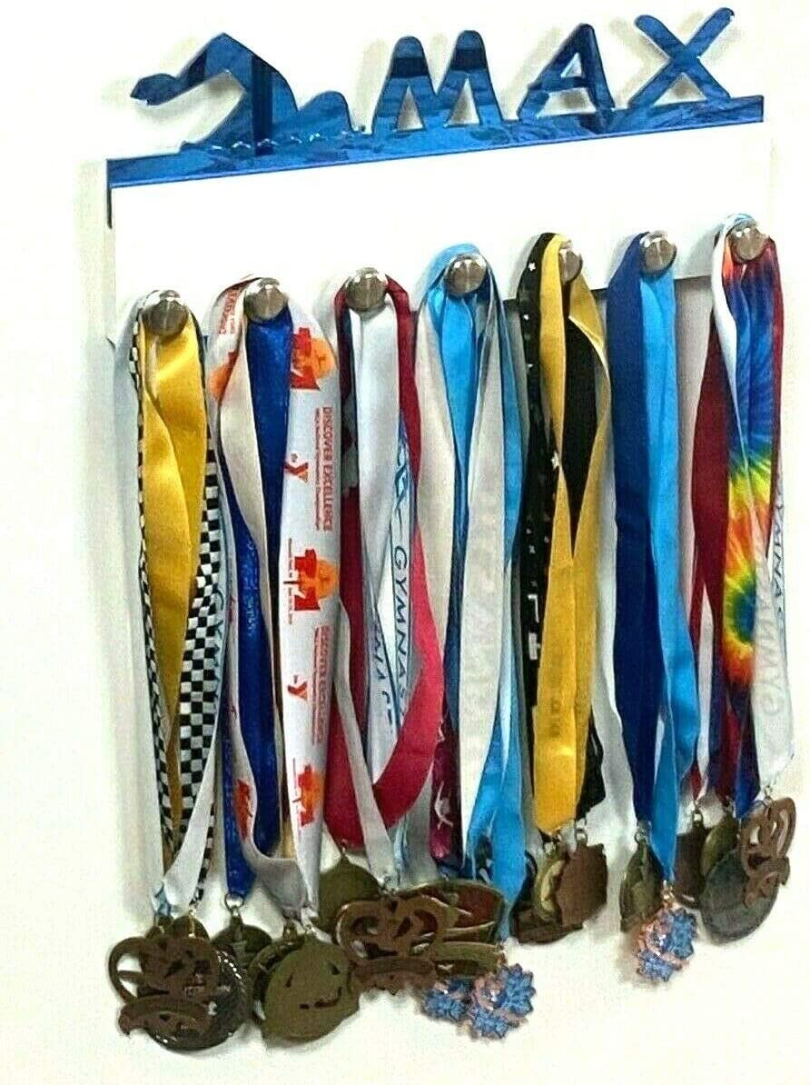 Custom Personalized Online limited product price Name Medal Organizer Awards Holder Display