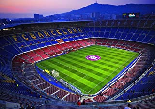 Poster Camp NOU Stadium Football FC Barcelona Art