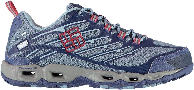 Officiella Columbia Ventrainia gående skor kvinnor blå Hiking Treking Treking Treking stövlar  Alla varor är specialerbjudanden