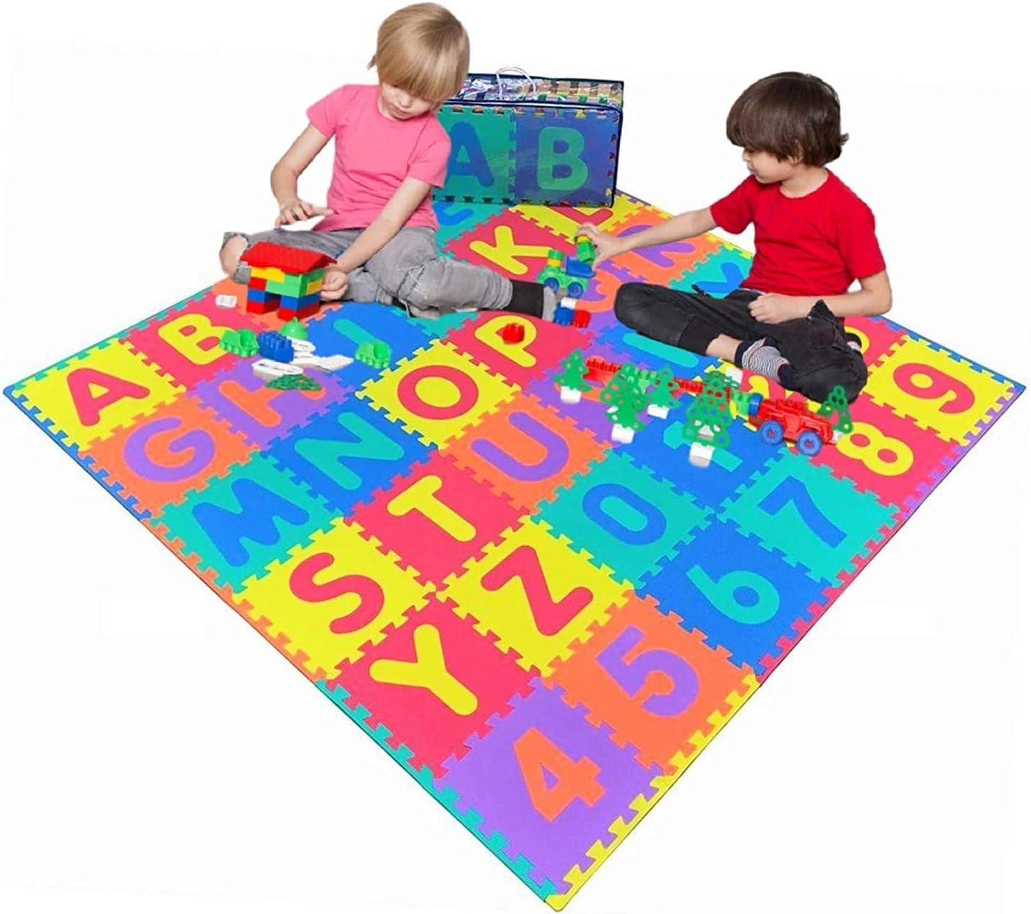 Pro-Gymnastics Sales for sale Kids Foam Puzzle Mat 36 Classic Numbers Tiles Alphabet